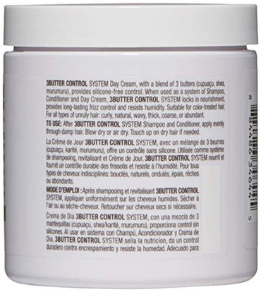 BIOLAGE 3Butter Control System Day Cream For Unruly Hair, 8.5 Fl. Oz.