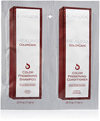 L'ANZA Healing ColorCare Color-Preserving Shampoo/Conditioner, 0.5 oz.