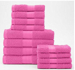 The Big One 12-pc. Bath Towel Value Pack-Pink