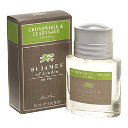 St James of London Cedar wood and Clarysage Cologne