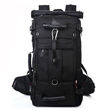 KAKA Backpack Knapsack 40L Hiking Travel Climbing Camping Mountaineering Daypack Black #2070
