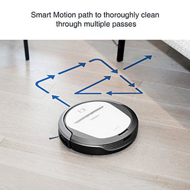 ECOVACS DEEBOT M80 Pro Robotic Vacuum Cleaner with Mop and Water Tank, for Hard Floor, Low-pile Carpet, APP Control, Wi-Fi Connected
