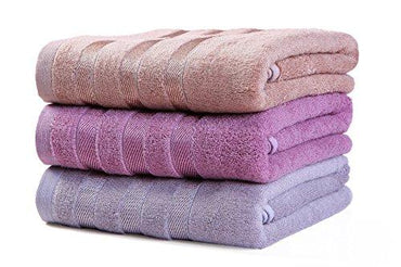 Taprilt Bath Towel Set, Antibacterial Bamboo & Cotton, 3-Pack, Hotel & Spa Towels, 420Gsm