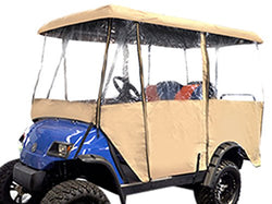 "Madjax Universal Enclosure for Most Golf Cart Models Will fit Carts with 80"" Top"