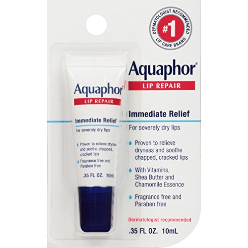 Aquaphor Lip Repair Tube Blister Card, 0.35 Ounce