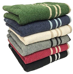 "Ruthy's Textile 3-pack 27"" X 50"" 100% Cotton Bath Towels"