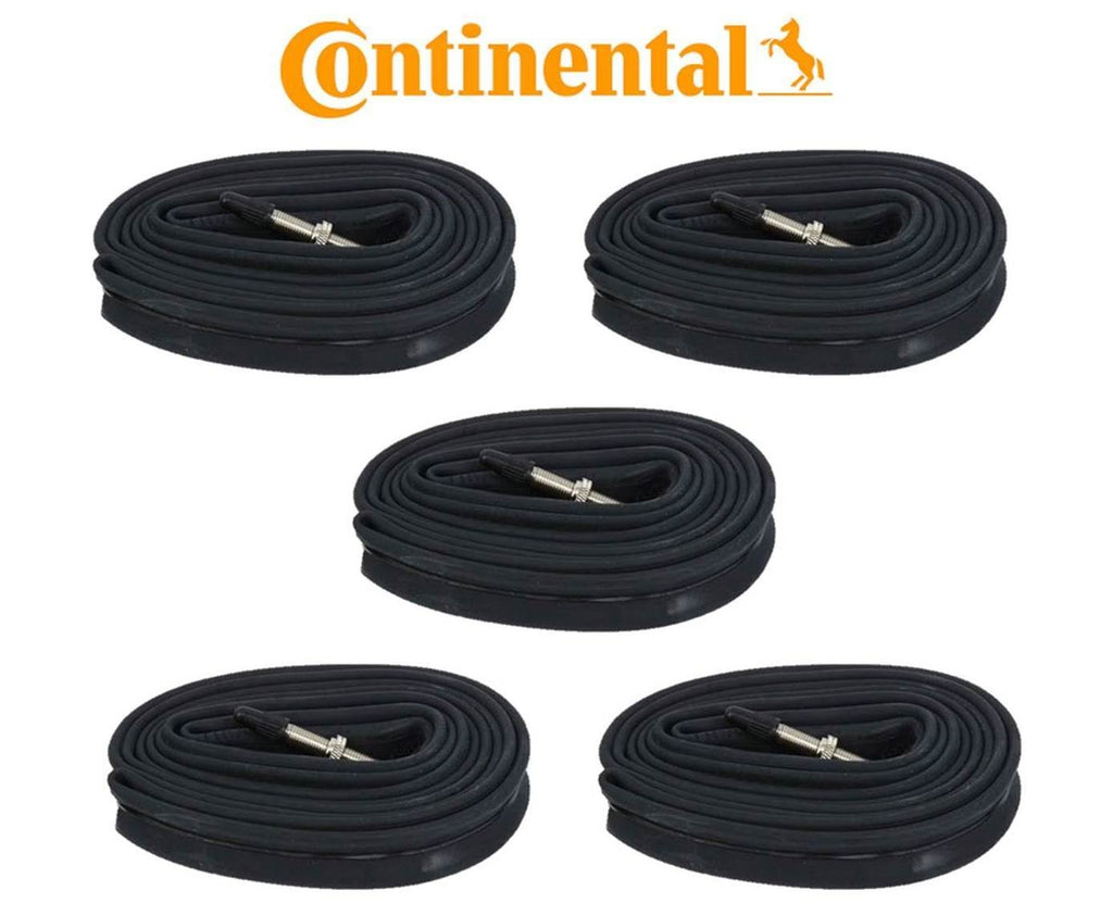 5x Continental Race 700 x 20-25c Tubes 42mm Long Valve Presta