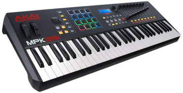 Akai Professional MPK225 | 25-Key USB MIDI Keyboard & Drum Pad Controller with LCD Screen