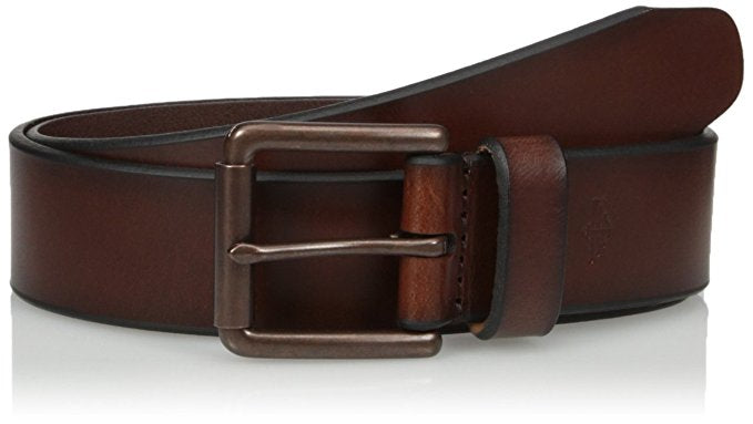 Dockers Men's 1 1/2 In. Leather Bridle Belt