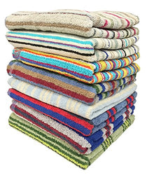 "3-pack 28"" X 57"" 100% Cotton Bath Towels"