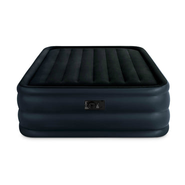 Intex Raised Downy Airbed with Built-in Electric Pump, Queen, Bed Height 22""