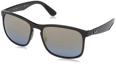 Ray-Ban RB4264 Chromance Mirrored Square Sunglasses