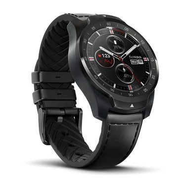 TicWatch Pro Bluetooth Smart Watch, Layered Display, NFC Payments, Google Assistant, Wear OS by Google (Formerly Android Wear), Compatible with iPhone and Android