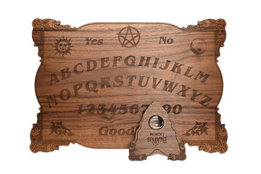 Celtic Ouija Board Real Walnut 15 x 10.5 x 1/4 Thick - (Not Jointed) Customizable