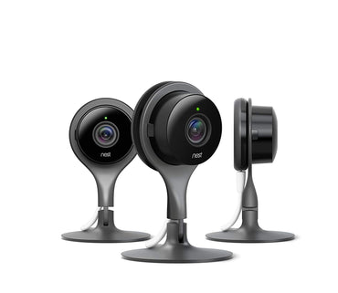Nest Security Camera, Keep An Eye On What Matters to You, From Anywhere, For Indoor Use, Works with Alexa