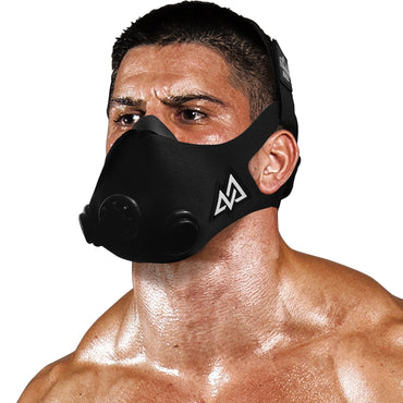Training Mask 2.0 Black Out Originals Series | Elevation Workout Mask, Cardio and Endurance Mask, Fitness Mask, Breathing Resistance Mask, Running Mask
