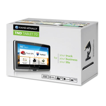 Rand Mcnally Tnd(Tm) Tablet 70 With 7 Display Gps And Dashcam Tnd(Tm) Tablet 70 With 7 Display Gps And Dashcam