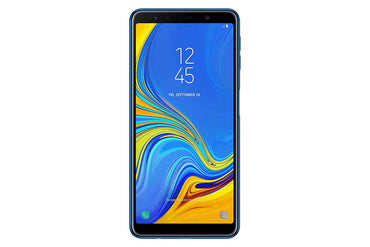 Samsung Galaxy A7 (2018) A750G 64GB Unlocked GSM Dual-SIM, Camera Triple 24MP + 8MP + 5MP