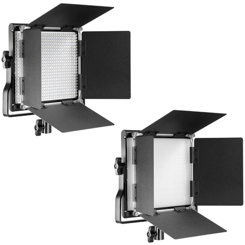 Neewer Professional Metal Bi-color LED Video Light for Studio, 3200-5600K, CRI 96+
