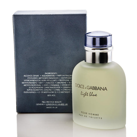 Light Blue for Men ~ Dolce Gabbana 75ml Eau de Toilette Spray
