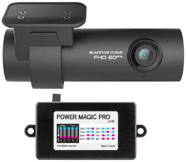 BlackVue DR750S-2CH_16GB_PMP DR750S-2CH with Power Magic Pro Hardwire Kit/2-Channel 1080P Full HD Car Dvr Recorder/16GB SD Card
