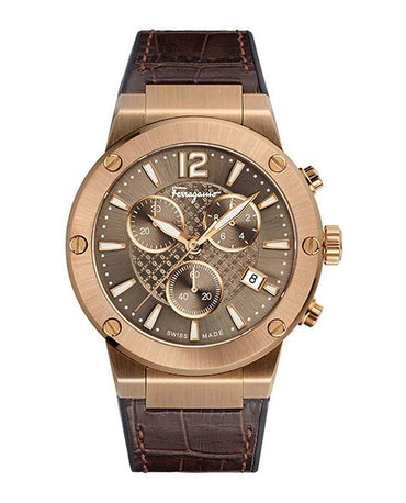 Salvatore Ferragamo Mens F-80 Watch, Ref. FIJ010017