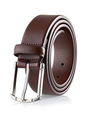 Savile Row Men's Dress Belt - Black, Brown & Reversible