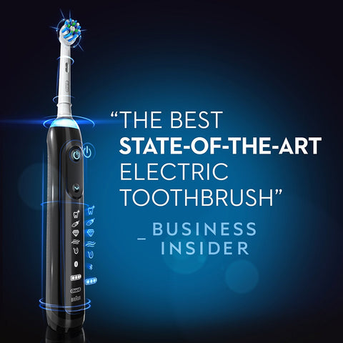 Oral-B Genius Pro 8000 Electronic Power Rechargeable Battery Electric Toothbrush with Bluetooth Connectivity Powered by Braun