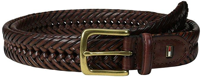 Tommy Hilfiger Men's Braided Belt (With Big & Tall Sizes)