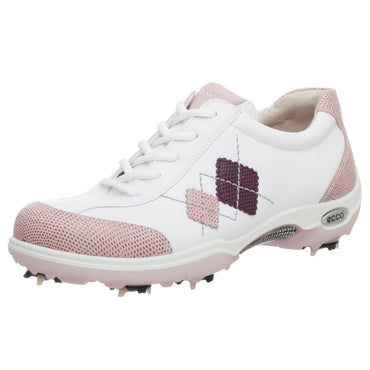 ECCO Women's Casual Pitch Argyle Golf Shoe