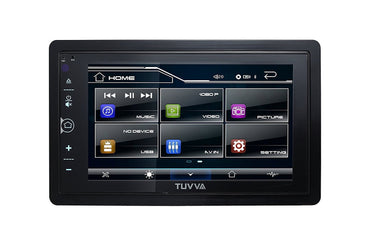 "TUVVA KSN6280 2-DIN Mechless Car Stereo with MHL Mobile Connectivity, Bluetooth / USB / AV IN / MP3 /MP4 Compatible, 6.2"" Touch Screen Digital Media AM/FM Receiver, (No CD/DVD player)"