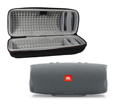 JBL Charge 4 Waterproof Wireless Bluetooth Speaker Bundle with Portable Hard Case