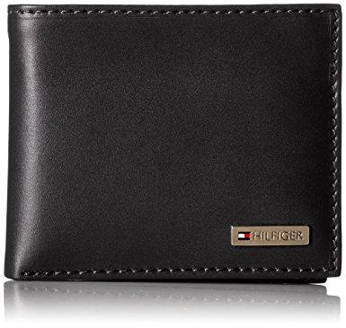 Tommy Hilfiger Leather Men's Multi-Card Passcase Bifold Wallet