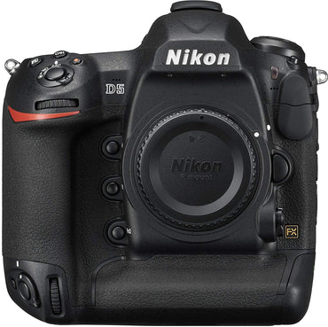 Nikon D5 DSLR 20.8 MP Point & Shoot Digital Camera, Dual XQD Slots - Black