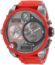 Diesel Men's DZ7279 The Daddies Series Analog Display Analog Quartz Red Watch