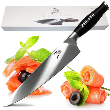 "Zelite Infinity Utility Knife - Comfort-Pro Series - High Carbon Stainless Steel Chef Knives X50 Cr MoV 15 >> 5"" (127mm)"