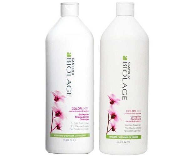 Biolage ColorLast Shampoo and Conditioner 33.8 Ounce