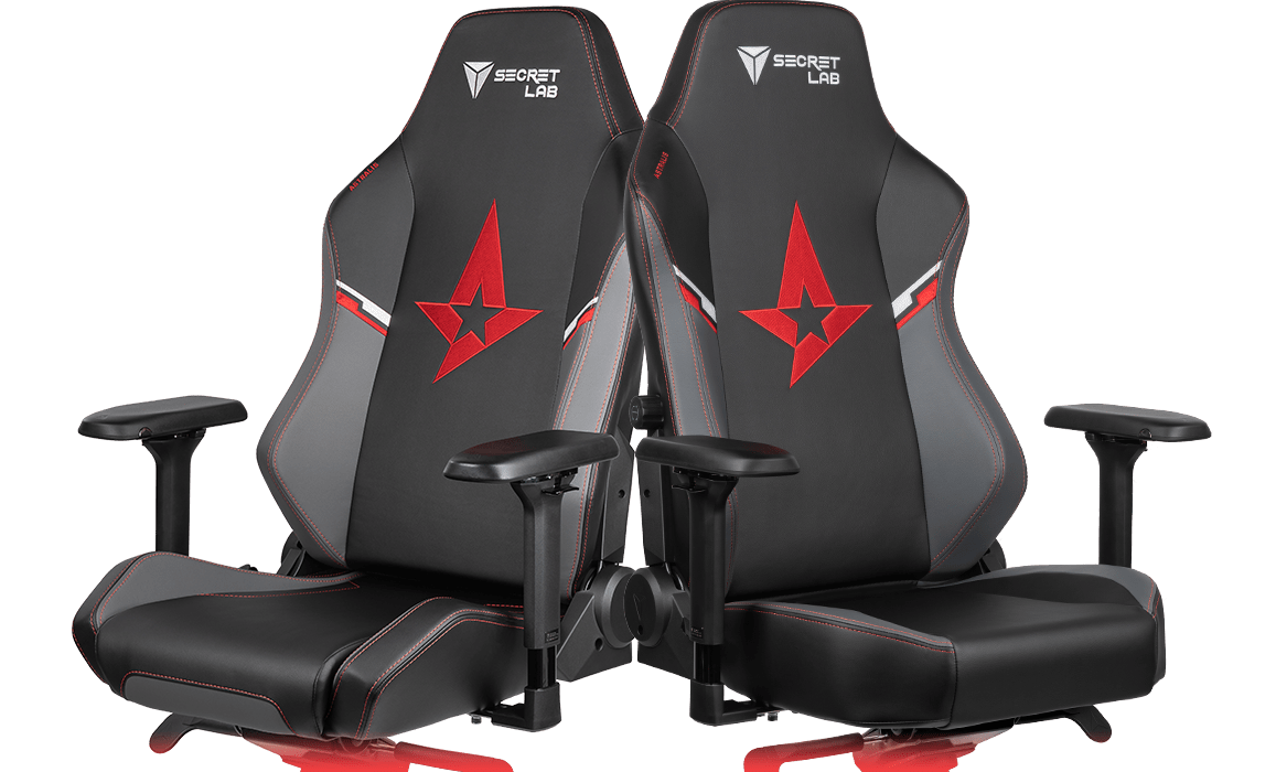 Secretlab x Astralis - OMEGA and TITAN Special Edition Gaming Chairs