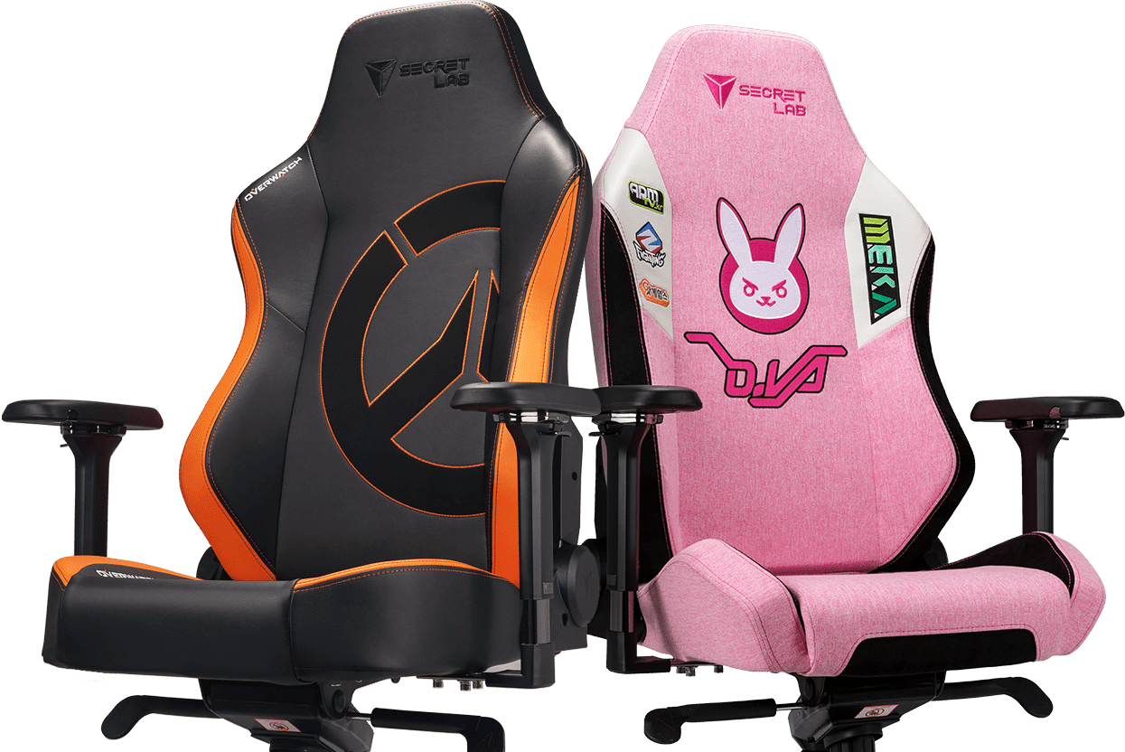 Secretlab x Overwatch - OMEGA and TITAN Special Edition Gaming Chairs