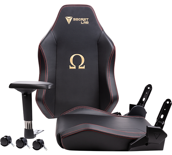 Secretlab OMEGA gaming chair parts