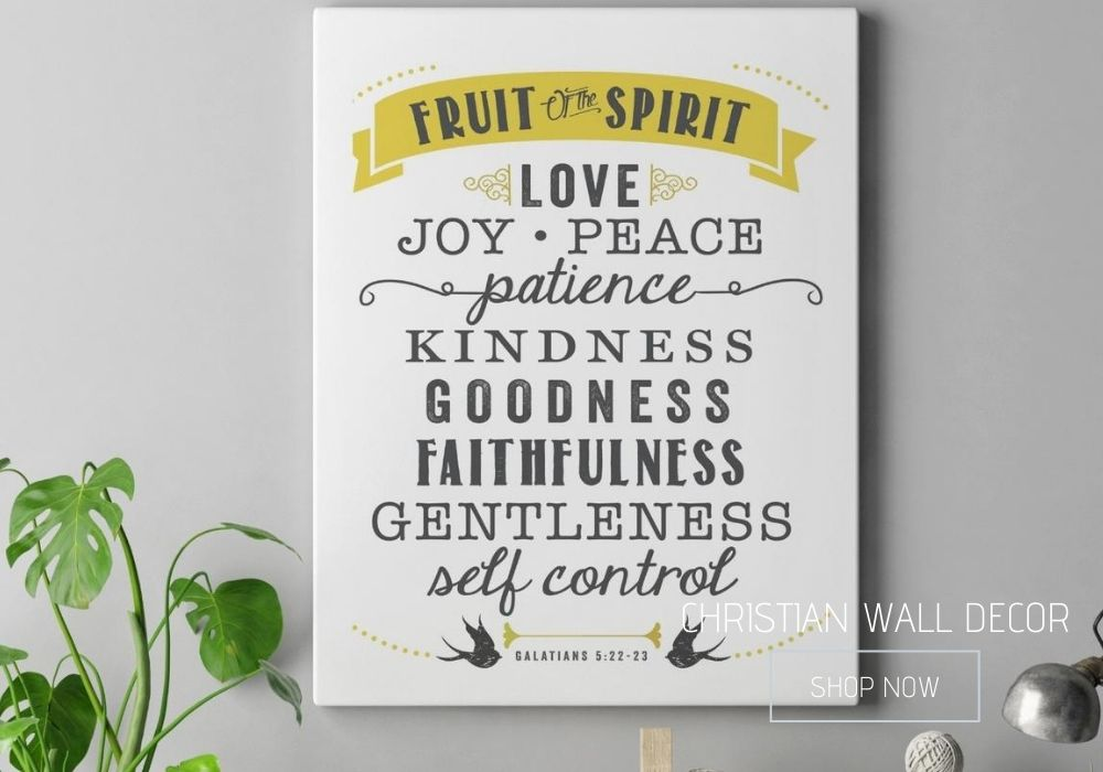 Christian Inspirational Wall Decor