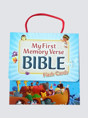 BSI My First Memory Verse Bible Flash Cards