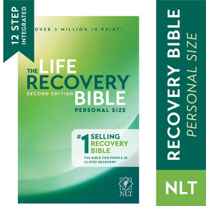 BSI NLT Life Recovery Bible Hard Bound