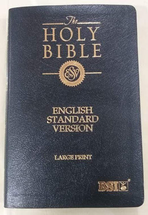 BSI The Holy Bible - English Standard Version (ESV) - Large Print