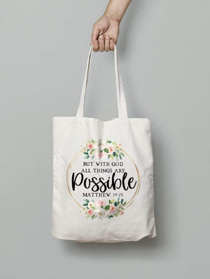 Living Words All things possible - Tote Bag