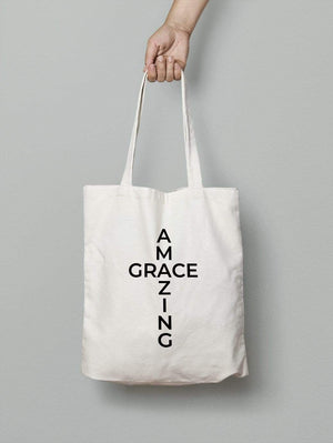 Living Words Amazing grace - Tote Bag