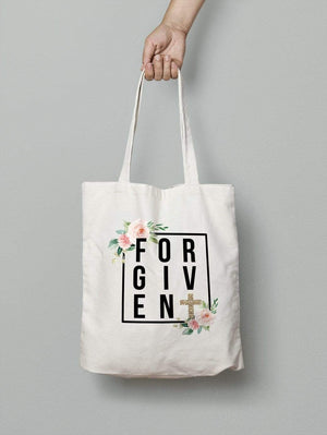Living Words Forgiven - Tote Bag