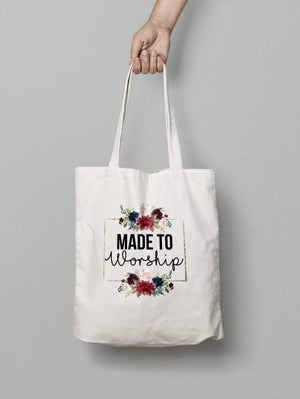 Living Words Made to worship - Tote Bag