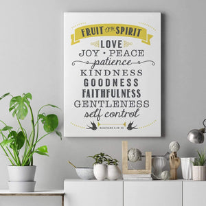 Living Words Wall Decor Fruit of the Spirit