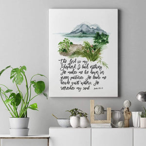 Living Words Wall Decor The Lord is my Shepherd